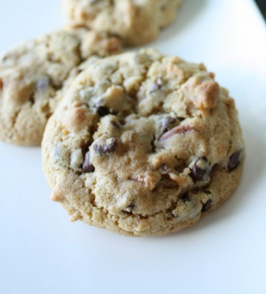 Pretzel Chocolate Crunch Cookies