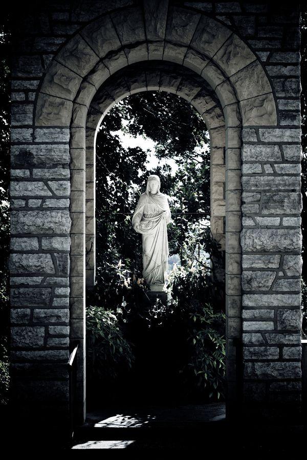 Midnight statue
